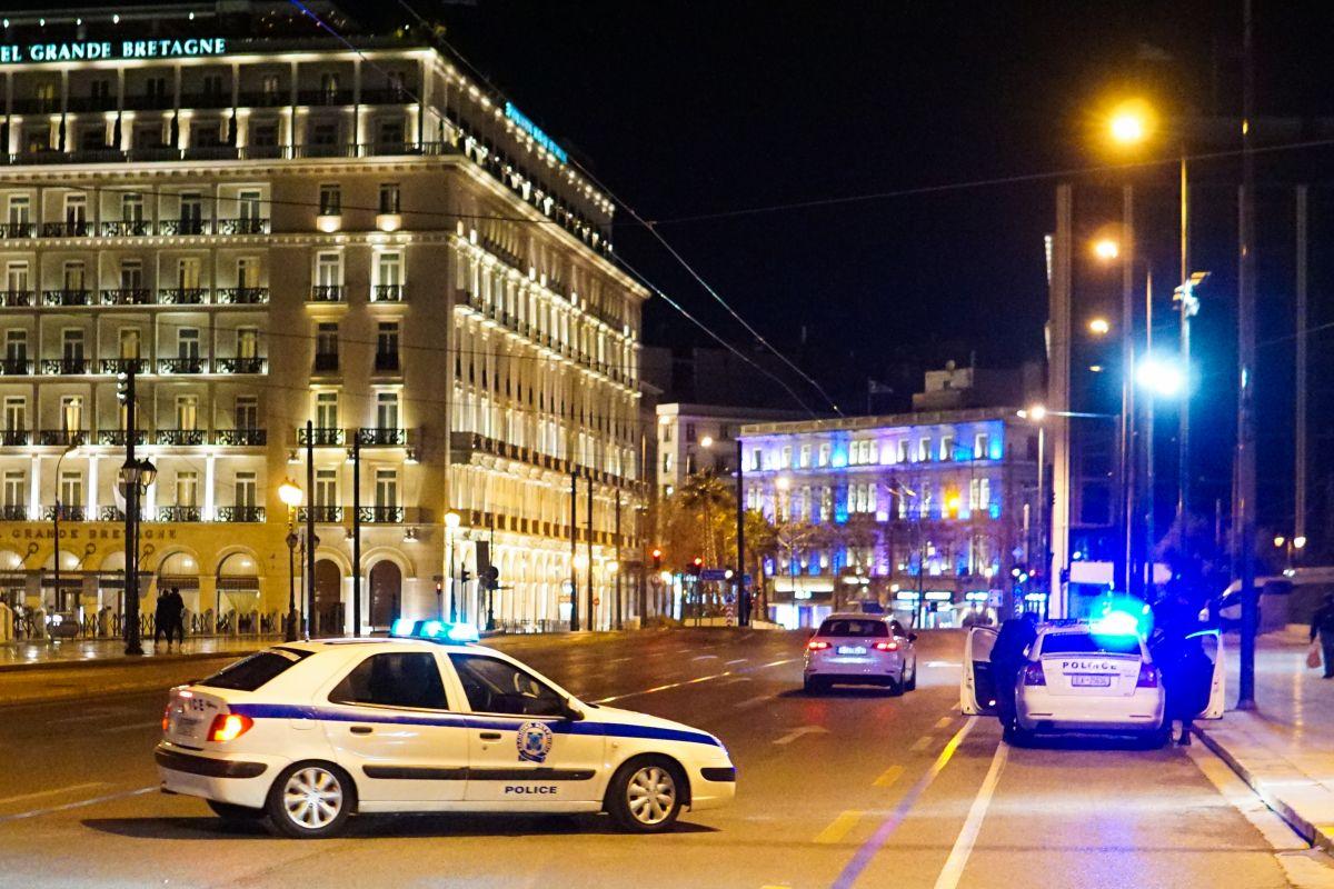 Lockdown: Έλεγχοι στην πρωτεύουσα