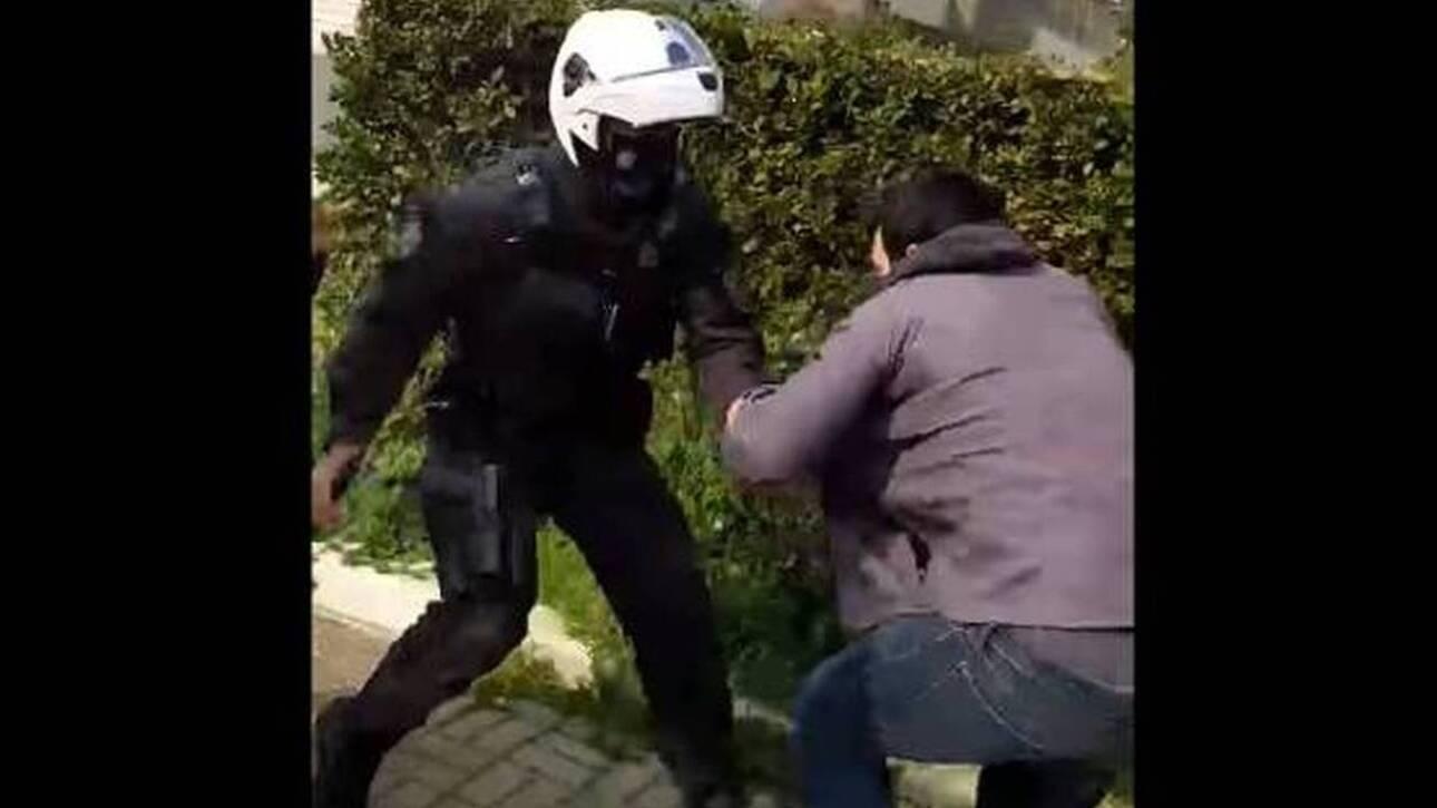 αστυνομική βία στη Νέα Σμύρνη