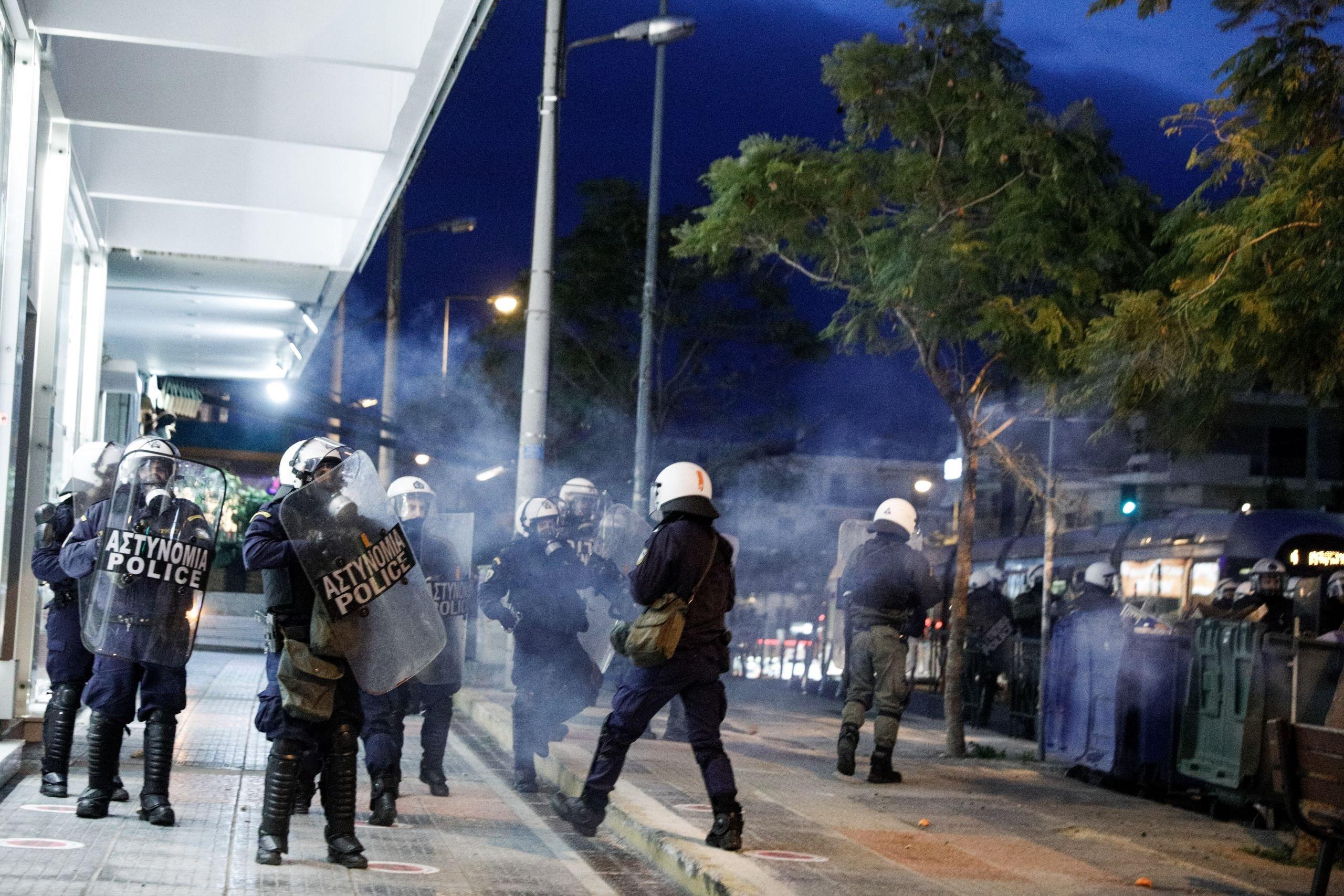 Αστυνομική βία Νέα Σμύρνη: