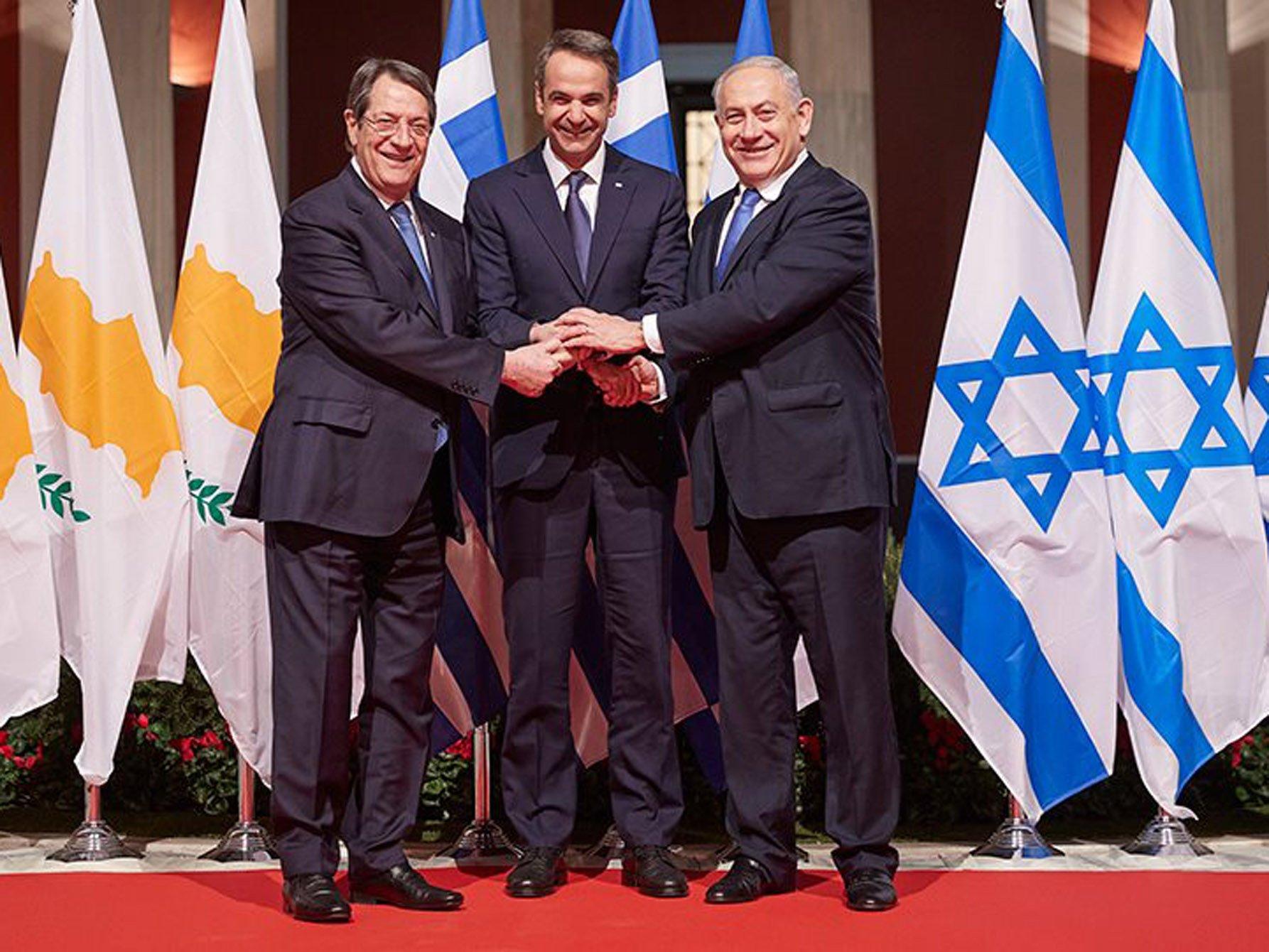 Ελλάδα Κύπρος Ισραήλ